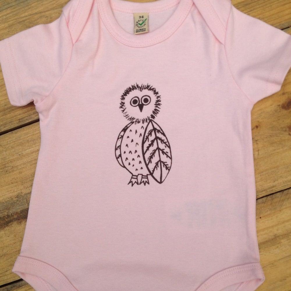 Image of Owl 100% Organic cotton onesies
