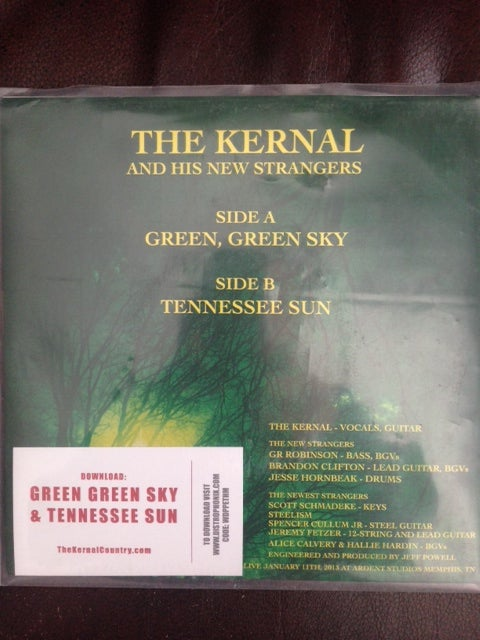 Image of The Kernal - Green, Green Sky / Tennesee Sun 7""