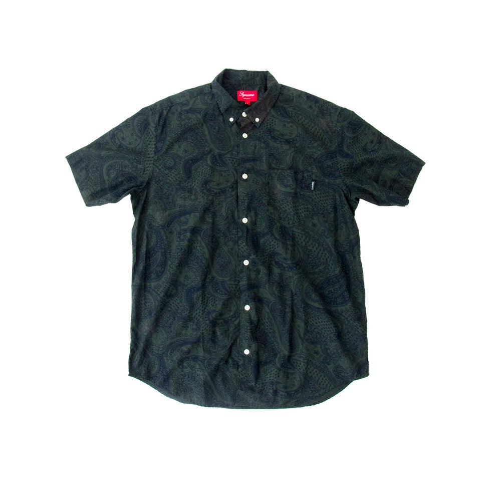 Image of SUPREME PAISLEY BUTTON-UP