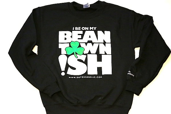 Image of Black Beantown ish Crew Neck Black