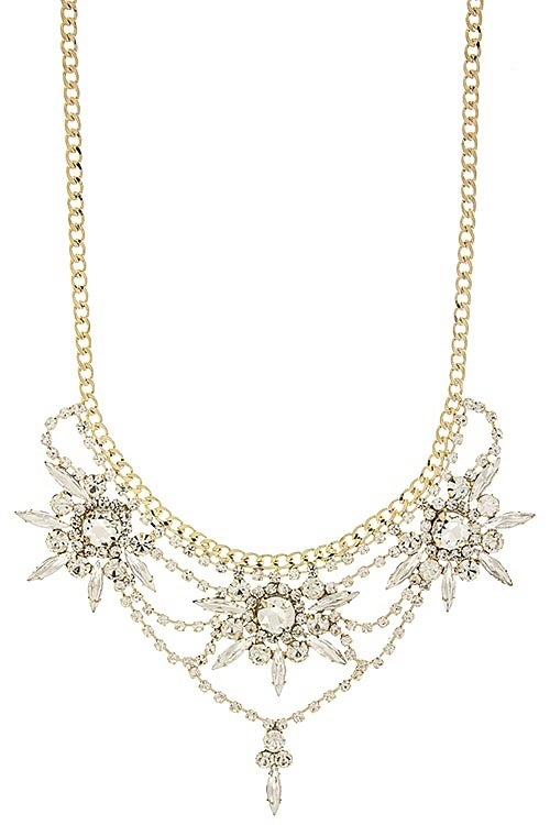 Image of Crystal Flora Necklace