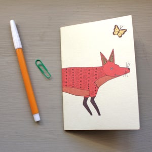 Image of Fox pocket notebook