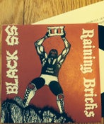 "Image of BLACK SS/ RAINING BRICKS 7"" Test Press"