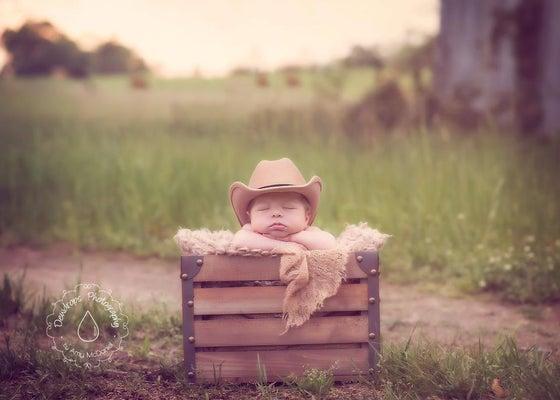 Image of Tan Cowboy Hat