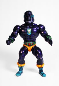 Image of Grape-Apes: Techno-Barbarian Simian Shamans from Galaxxor x Goodleg Toys x Monster Kolor