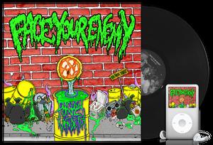"Image of FACE YOUR ENEMY ""Toxic Vendetta"" 12"" black vinyl"