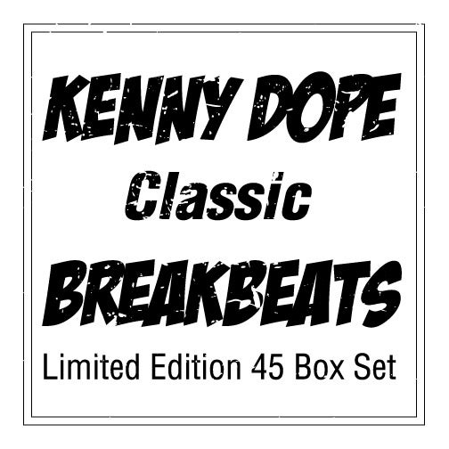 "Image of KENNY DOPE ""CLASSIC"" BREAK BEATS-LIMITED EDITION"