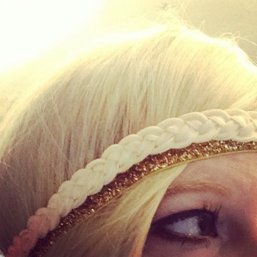Image of Solid Braided Headband