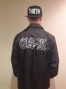 Image of Collared Shirt Koaches Jacket