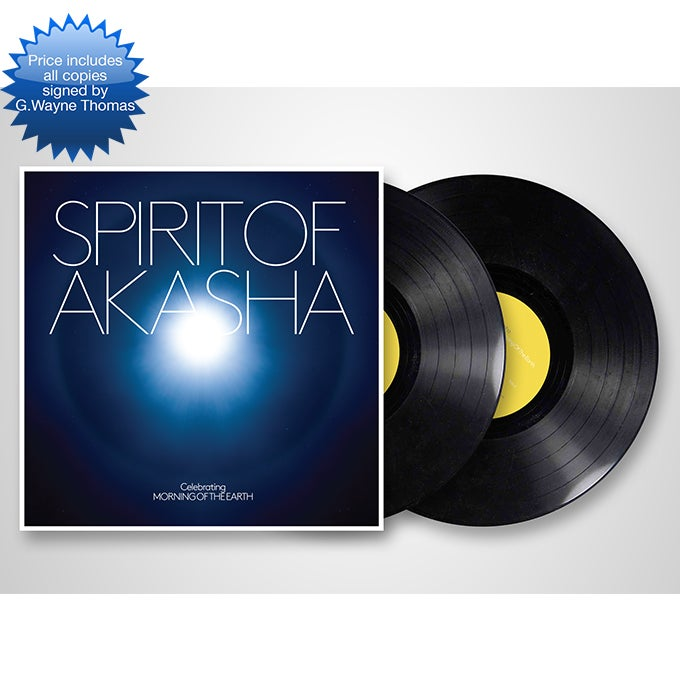 Image of SPIRIT OF AKASHA (2 LP) AUTOGRAPHED BY G.WAYNE THOMAS