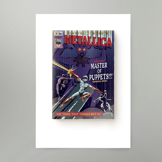 Image of Master Of Puppets Art Print