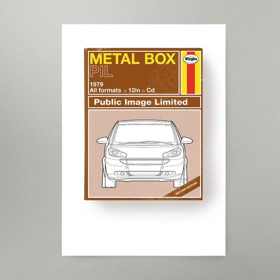 Image of Metal Box Art Print