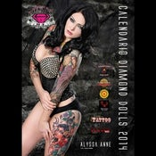 Image of 2014 Diamond Dolls Ink Calendar
