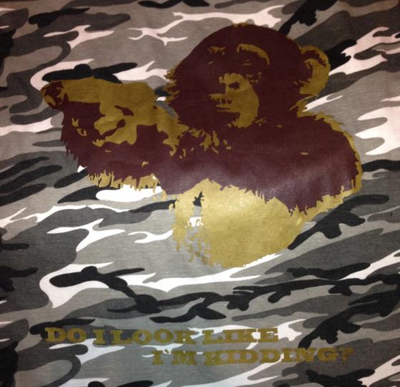 """Image of """"Ape"""" - Snow Camo"""