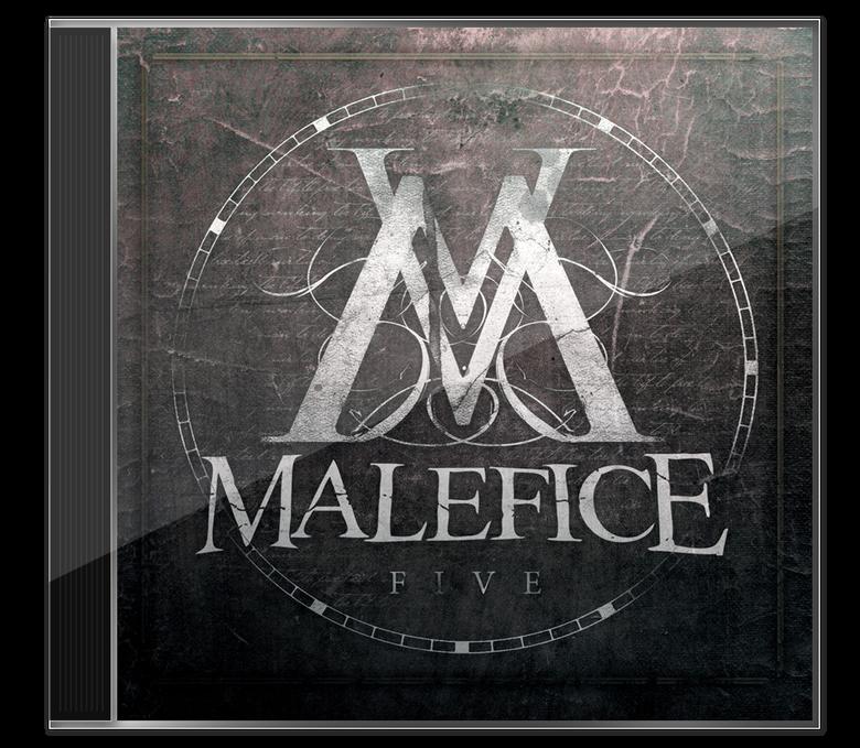 Image of Malefice - 'V' CD Album