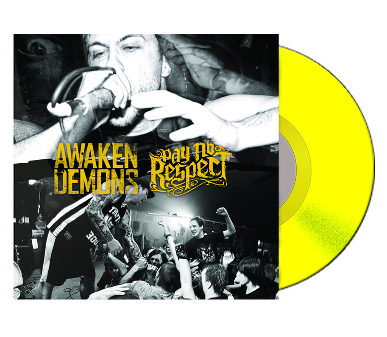 Image of Awaken Demons & Pay No Respect Split Vinyl