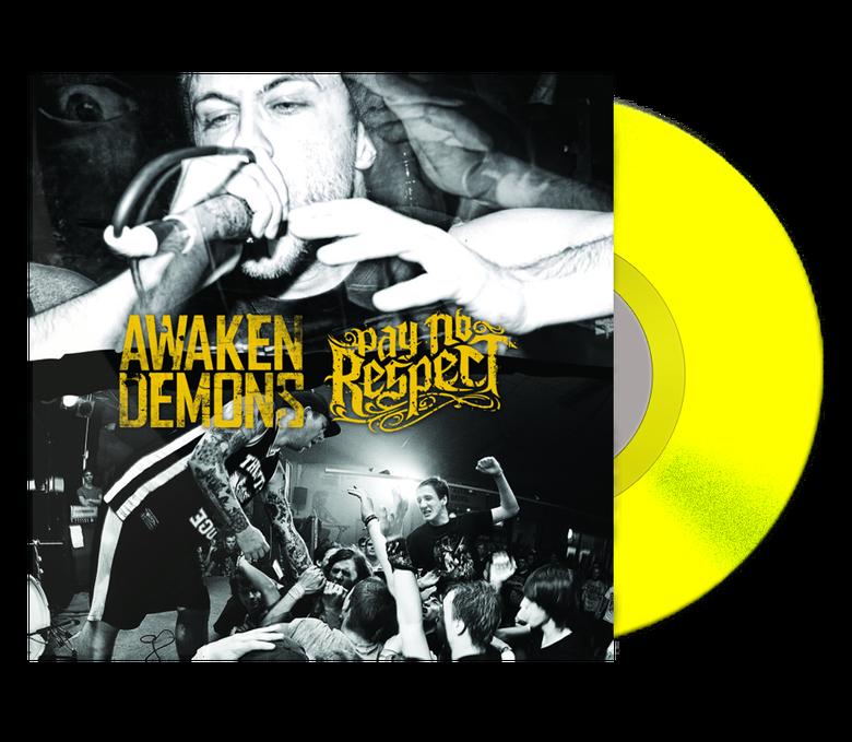 Image of Awaken Demons & Pay No Respect Split Vinyl