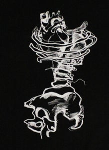 Image of Rib Cage Heart T-Shirt