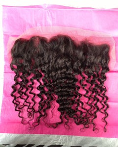 Image of Lace Frontal/Natural Curl