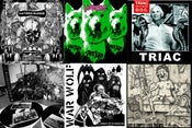 "Image of 10/12"" Distro: Triac, Hatred Surge, Iron Lung, Bacchus, War Wolf, Disciples Of Christ, Dopefight"