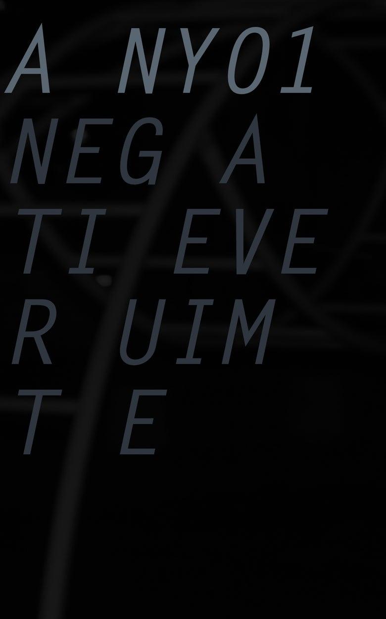 Image of Negatieve Ruimte - Eindpunt EP (ANY01)