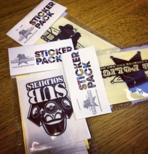 Image of Dub Police Sticker Pack