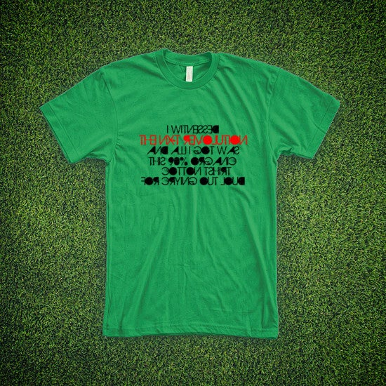 Image of First Come First Served Lovely Green tee
