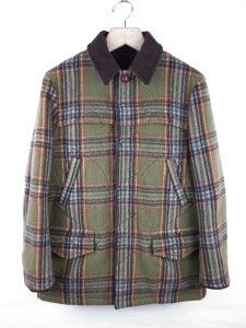 Image of Number (N)ine - FW08 Shaggy Plaid Mackinow Jacket