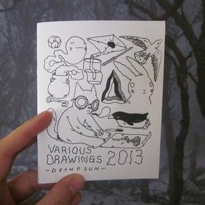 Image of Various Drawings 2013 Zine