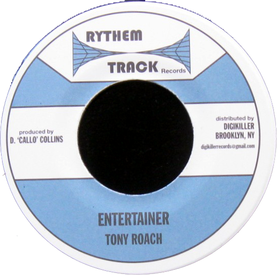 "Image of Tony Roach - Entertainer 7"" (Rythem Track)"