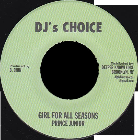 """Image of Prince Junior - Girl For All Seasons 7"""" (DJ's Choice)"""