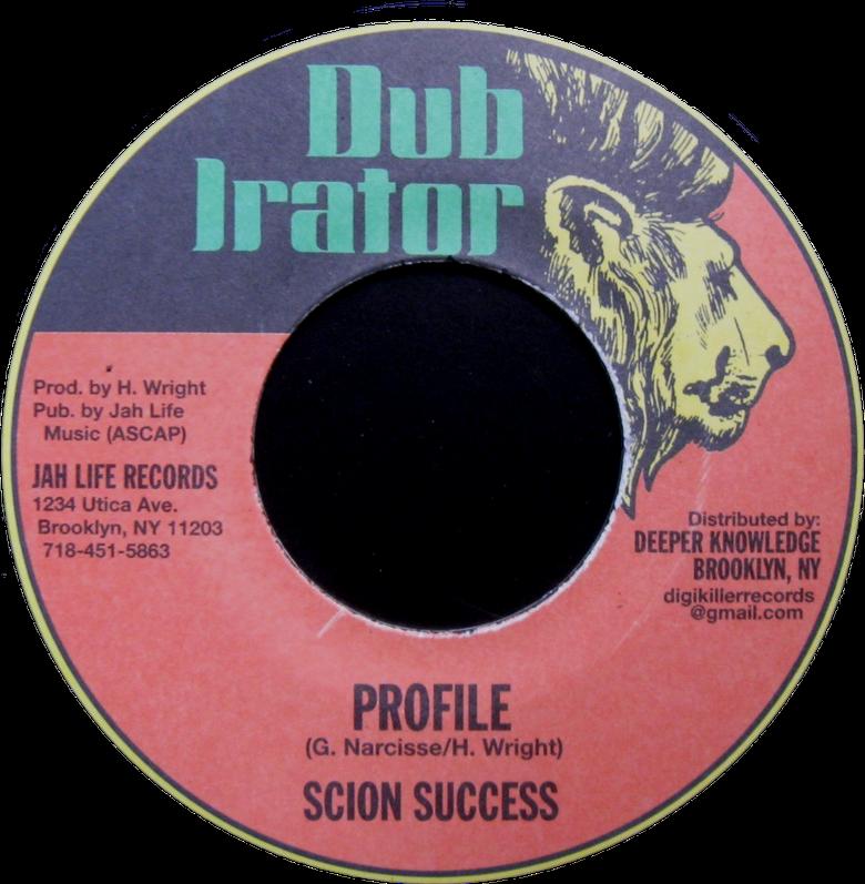 "Image of Scion Success - Profile 7"" (Dub Irator)"