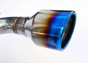 Image of Invidia Q300 Cat-Back Exhaust Titanium Tips