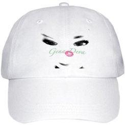 Image of Gena Deva Black & White doll face Hat