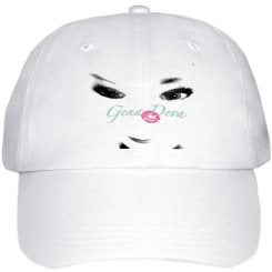 Image of Gena Deva Black & White doll face Hat