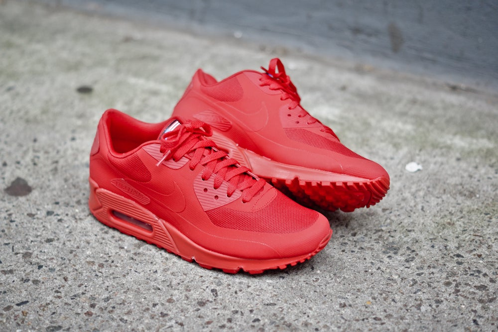 "NIKE AIR MAX 90 HYPERFUSE ""INDEPENDENCE DAY"" RED / DopeKickin
