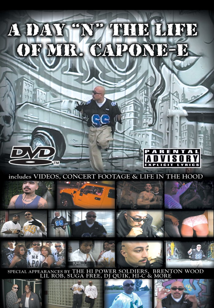 Image of Mr. Capone-E - A Day In The Life of Mr. Capone-E
