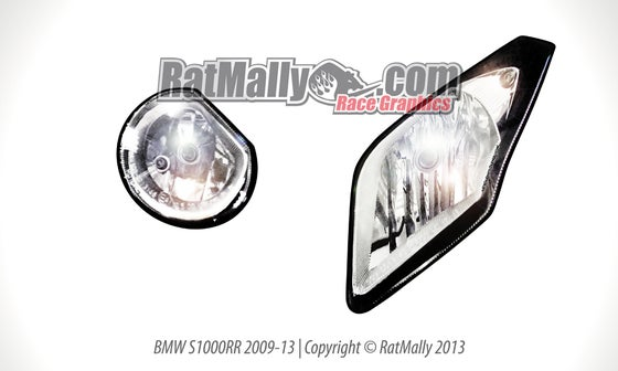 Headlight Stickers / RatMally Race Graphics