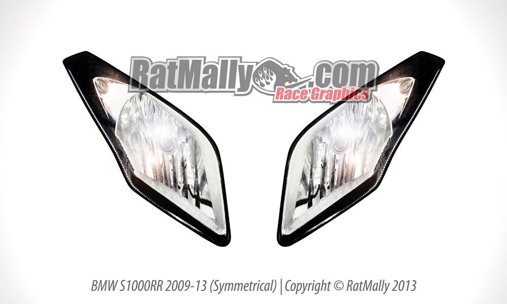 headlight stickers    ratmally race graphics