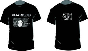 Image of CLAYMORDS Scum of the Earth T-shirts