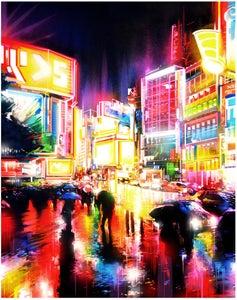 Image of 'Liquid Lights' - Limited edition Giclee print