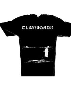 Image of CLAYMORDS Theories Written Black T-shirts