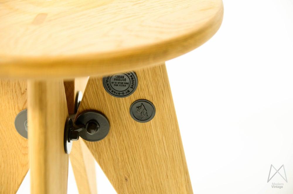 Modern vintage amsterdam original eames furniture jean prouve tabouret so - Tabouret jean prouve ...