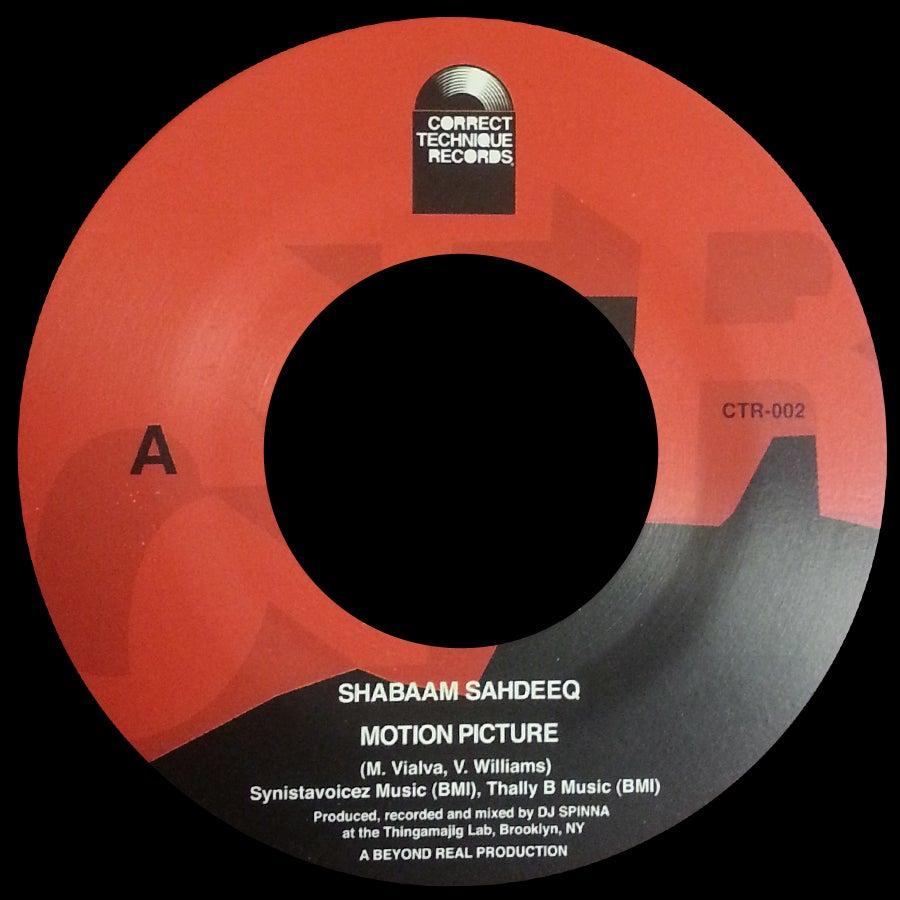 """Image of CTR-002 Shabaam Sahdeeq/DJ Spinna  (Transparent Red Vinyl 7"""")"""