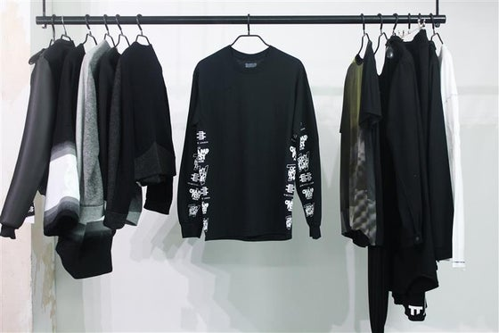 Image of OPEN_NETWORK Longsleeve Garment + SD Card + QR