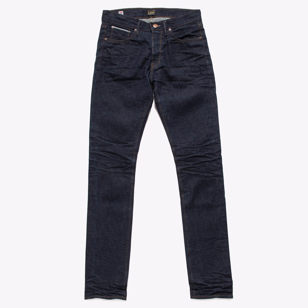Image of LEE 101B KC Wet Selvedge Jeans - LEAN STRAIGHT