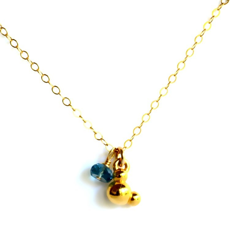 Image of Water molecule necklace