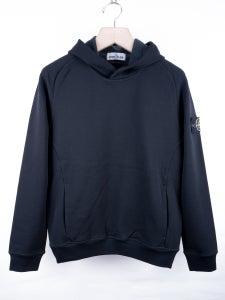 Image of Stone Island - Garment Dyed Techno Fleece Hoodie