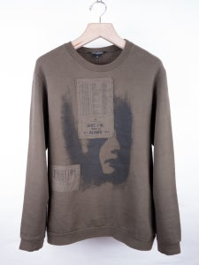 Image of Raf Simons - FW05 Patched Sweatshirt