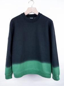 Image of Raf Simons - FW13 Acid Green Gradient Sweatshirt